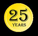 guarantee 25 icon