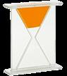 reverse hourglass