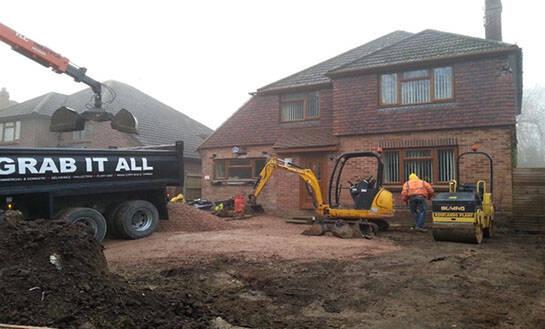 full excavation